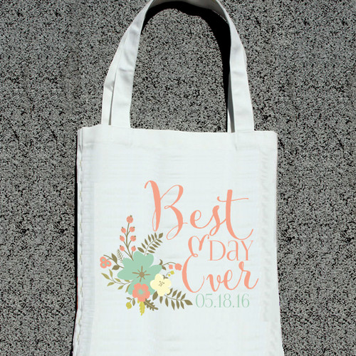 wedding welcome tote bags bachelorette tote bags ilu lily