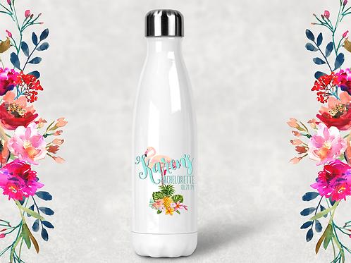 Flamingo Bachelorette Party Water Bottle -Swell Style Water Bottle