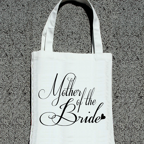 Fancy Mother of the Bride Wedding Tote Bag