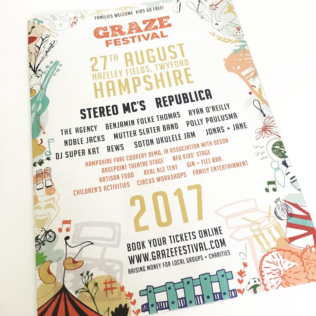 Graze Festival Poster