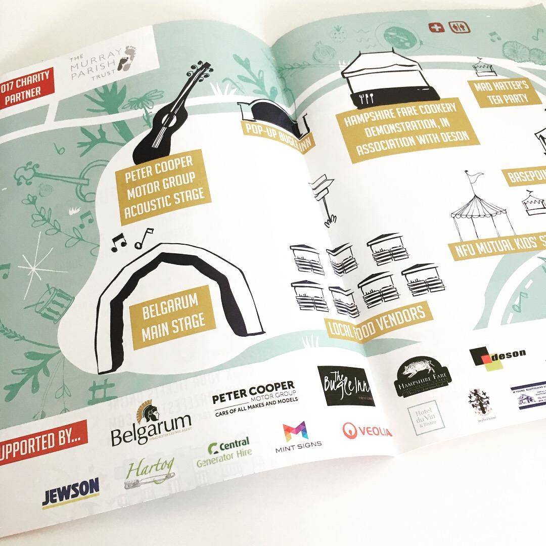 Graze Festival Map
