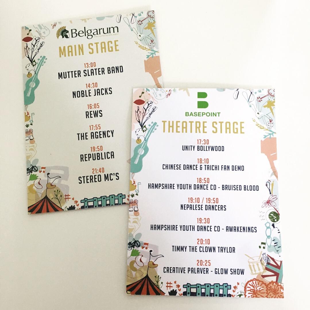 Graze Festival Cards