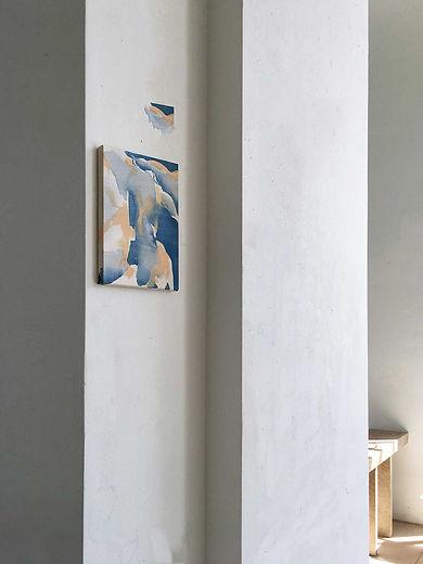 anna grebner : exhibition adbk münchen 2020 studio 1