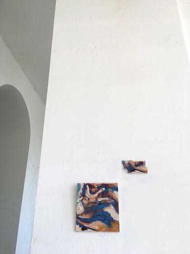 anna grebner : exhibition adbk münchen 2020 studio 2