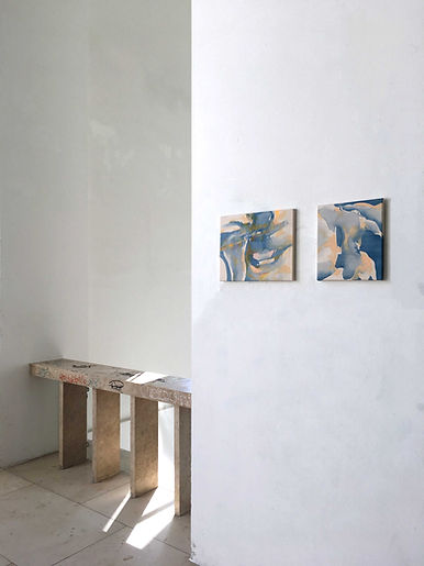 anna grebner : exhibition adbk münchen 2020 studio 3