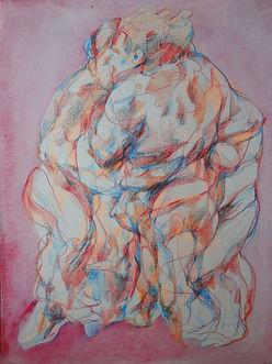 anna grebner : somatic pink paperstudio 2020