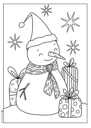 Snow Man by Aline Monda