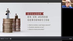 ELEMENTO: Charla Virtual con participación de Abelardo Pachano