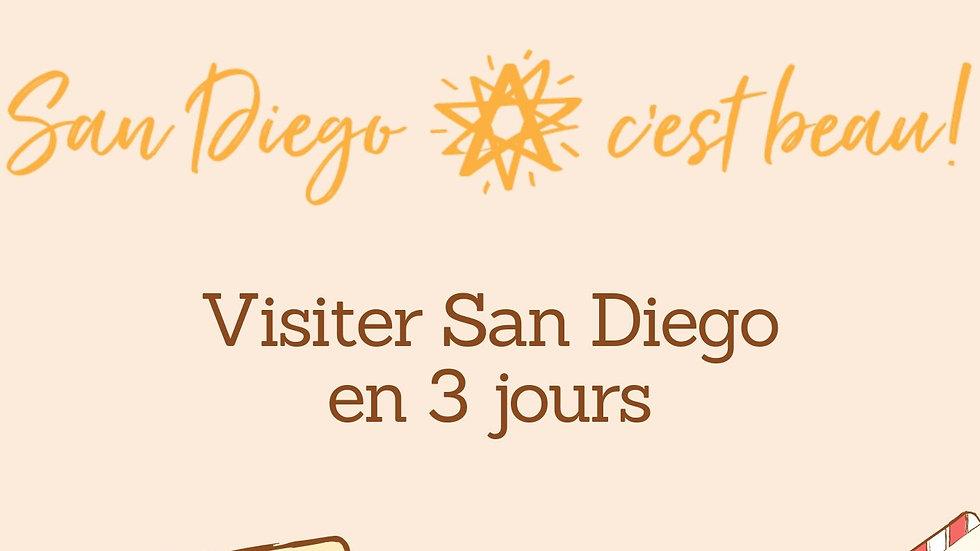 San Diego en 3 jours