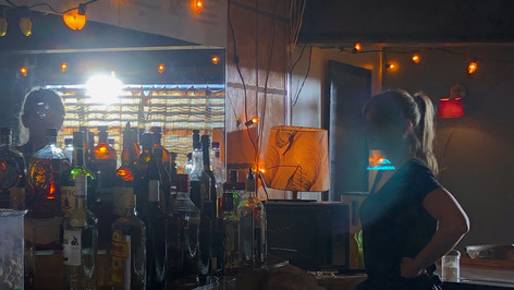 Working class bar: dressed location