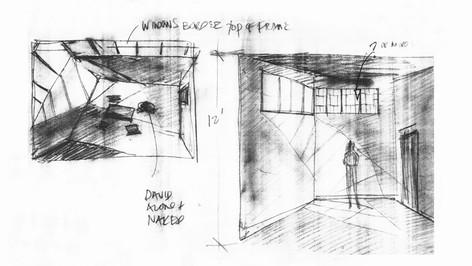 Milgaard(TV movie), Interrogation Room; designer's sketch