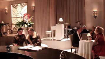 Gander Hotel Bar; studio set