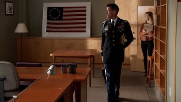 Military School New Office; retrofitted, dressed location