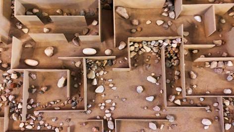 Excavation II, detail