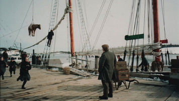 Dockside; dressed location