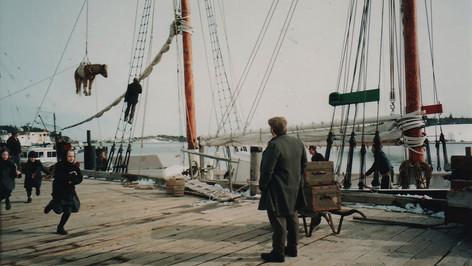 Dockside; dressed location