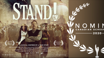 STAND! promotional & Canadian Screen Award Nominee 2020