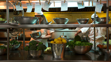 Chinese Restaurant Kitchen; dressed location; photo J.Shapiro