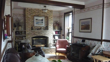 Farmhouse Living Room; location before retrofit