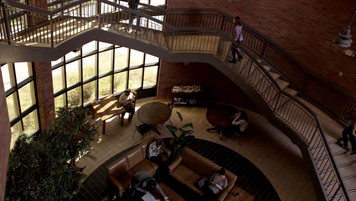 University Staircase; location