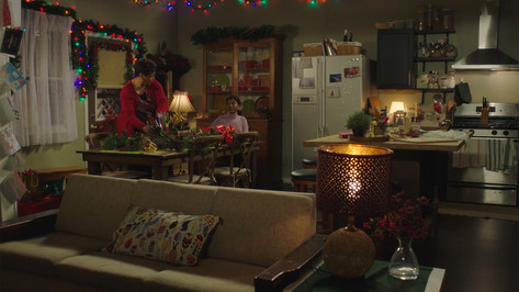 Family Home; retrofitted, dressed studio set
