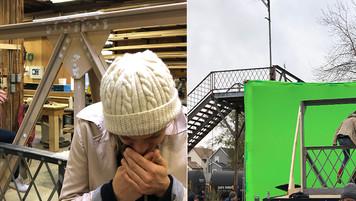 Bridge; build prep & green screen setup