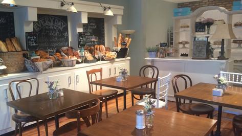 Bakery; retrofitted, dressed location