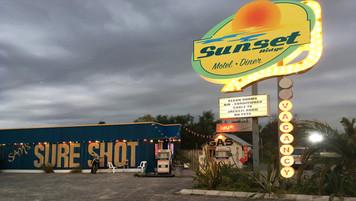 California Motel & Sure Shot Bar; retrofitted, dressed Cape Town location