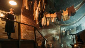 Immigrants' Tenement; retrofitted, dressed location