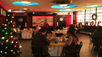 Chinese Restaurant; retrofitted, dressed location