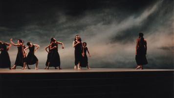 Dido & Aeneas Pyramid and Skyscape; studio set