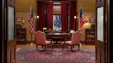 Town Hall Mayor's Office; studio set