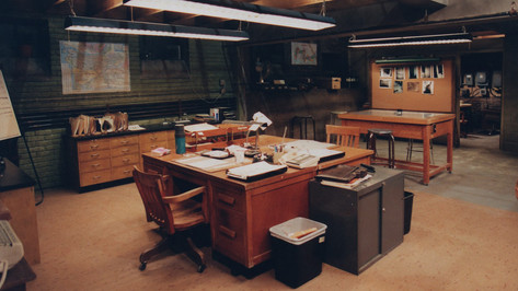 Cold Squad(TV series), Basement Offices; studio set
