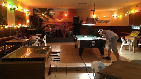 California Sure Shot Bar Interior; retrofitted, dressed Cape Town location
