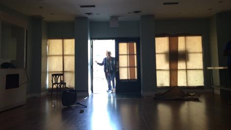 Empty Bakery; dressed location