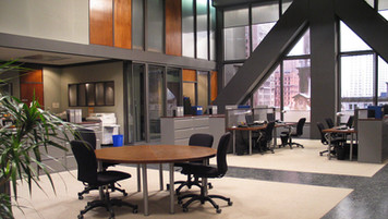 Wild Card(TV series), Chicago Insurance Office; studio set