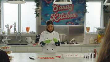 Desmond's Candy Kitchen; retrofitted, dressed studio set