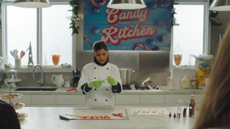 Desmond's Candy Kitchen; retrofitted, dressed studio set