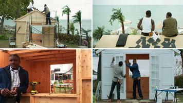 Calilfornia Beach House Workshop; set built on Ontario location