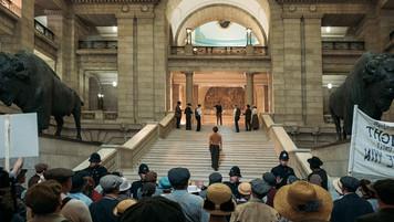 Protest at Legislature; location; photo E.Zachanowich