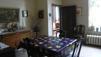 Farmhouse Dining Room; location before retrofit
