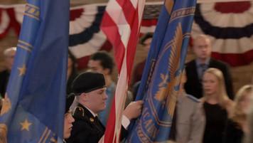 Military School Honor Ceremony; dressed location
