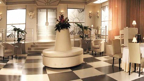 Gander Hotel Ballroom; studio set