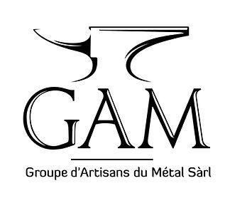 GAM, Groupe d'Artisans du Métal Sàrl, logo enclume