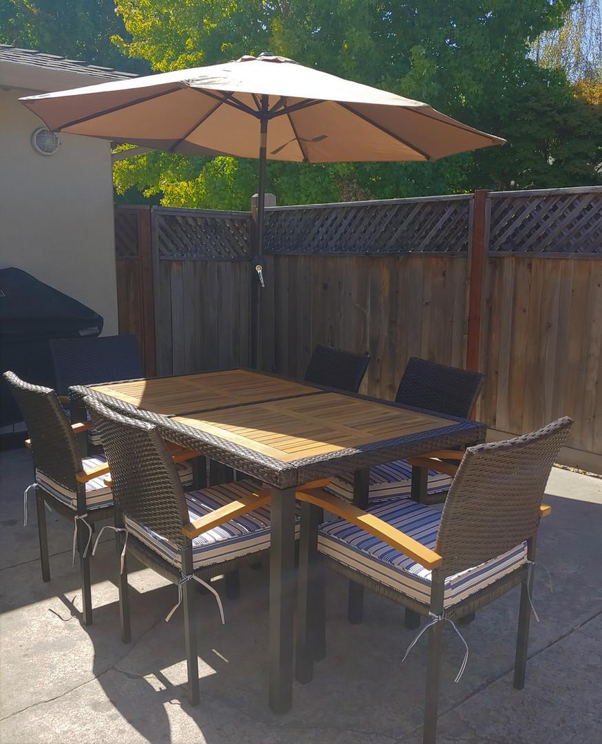 Ourdoor Dining Space