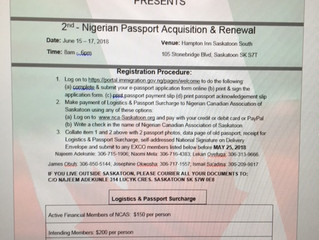 Passport Renewal and acquisition!!!