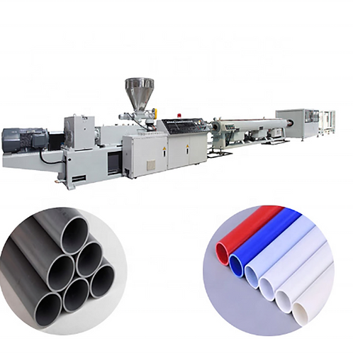 Pipe material production line