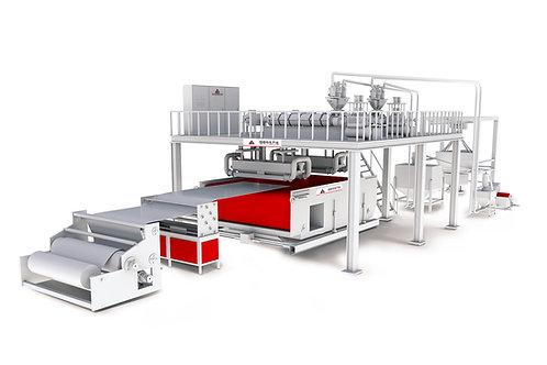pp meltblown non-woven machine