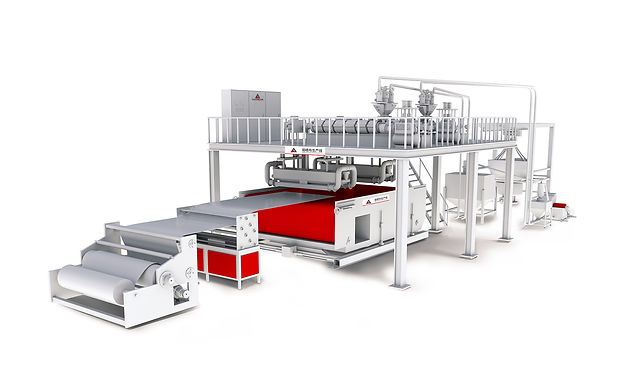 2400mm double spray melt blown cloth production line
