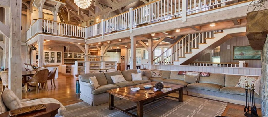 TOP 5 NANTUCKET LISTINGS FEATURING POST AND BEAM DESIGN